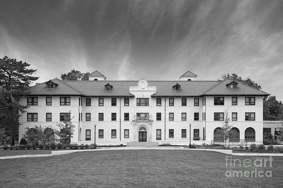 East Rutherford Photograph - Montclair State University Edward Russ Hall by University Icons