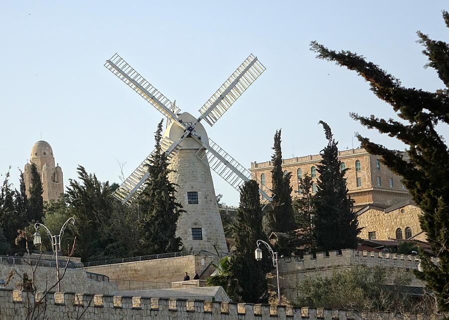 Montefiore Jerusalem by Rita Adams