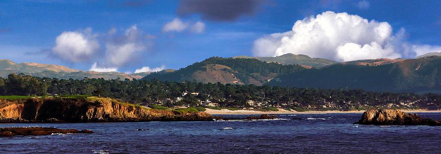 Monterey Bay Photograph - Monterey Bay California by Lynn Bolt