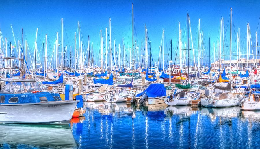 Monterey Bay Yacht Club 19704 2 Photograph