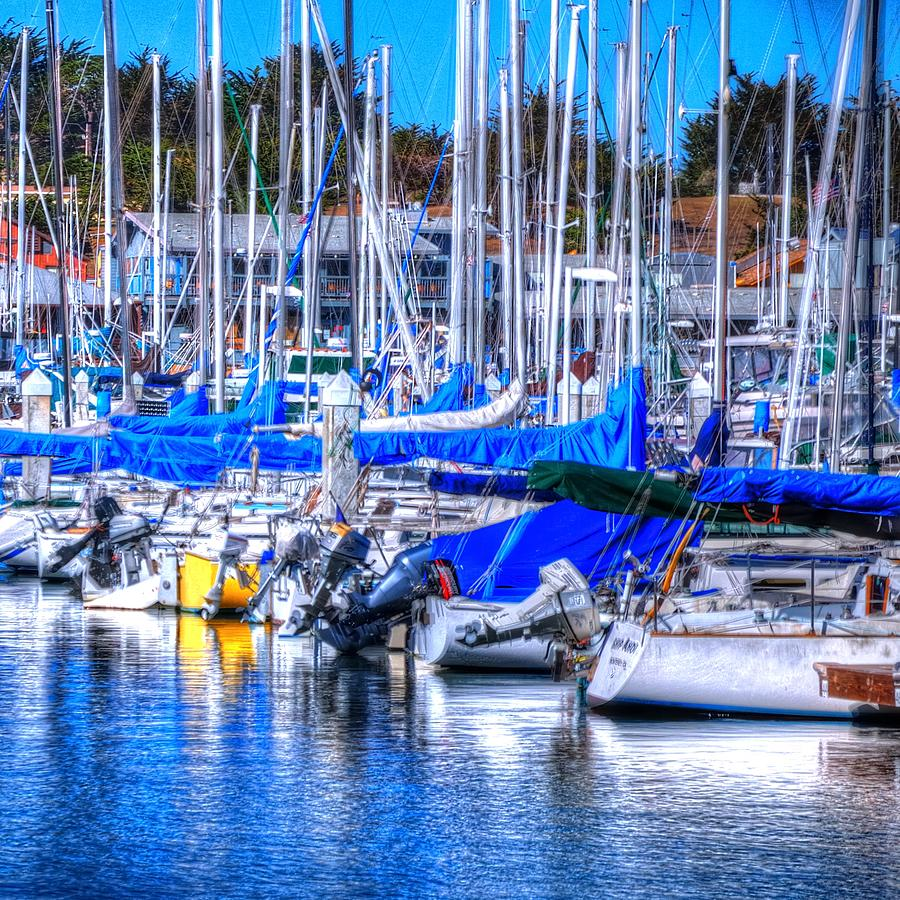 Monterey Bay Yacht Club Sterns 19734 Photograph