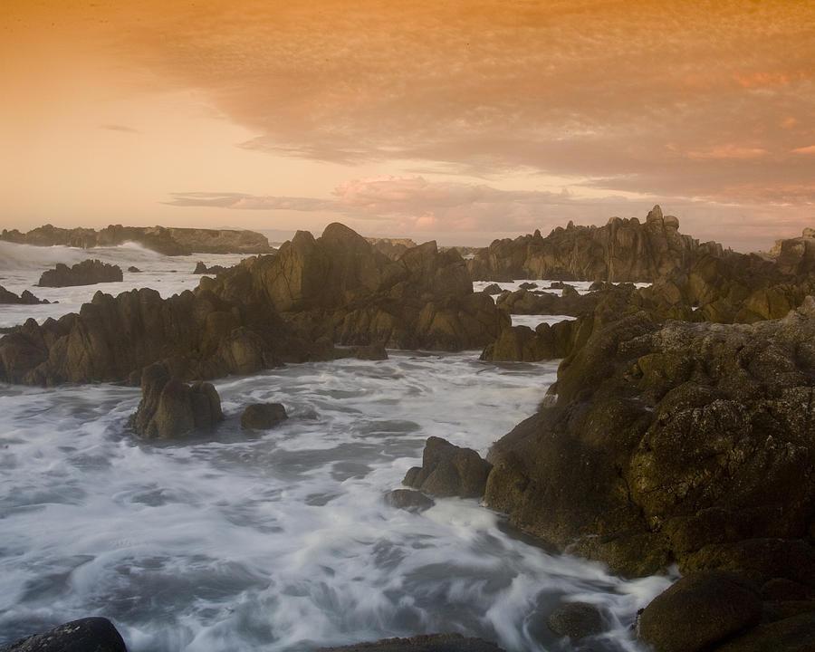Sunset Photograph - Monterey Set by Neal Martin