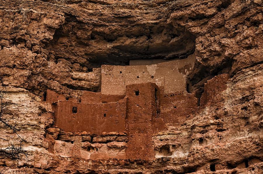 Montezumas Castle Photograph