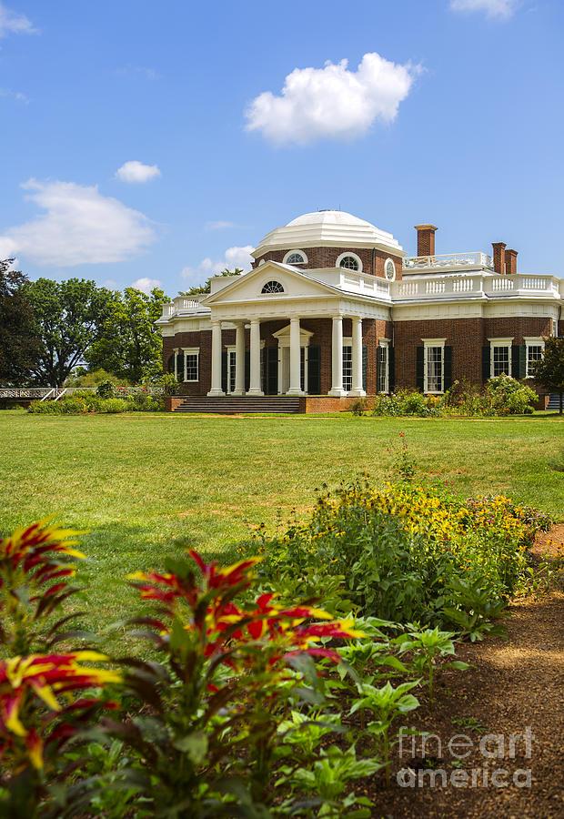 Monticello Photograph