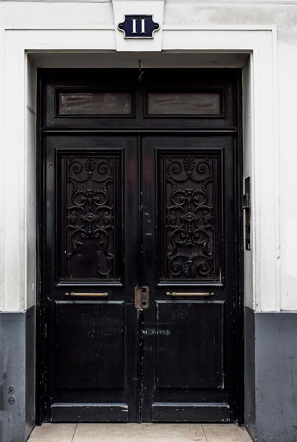 Montmartre Dark Door Photograph By Georgia Fowler