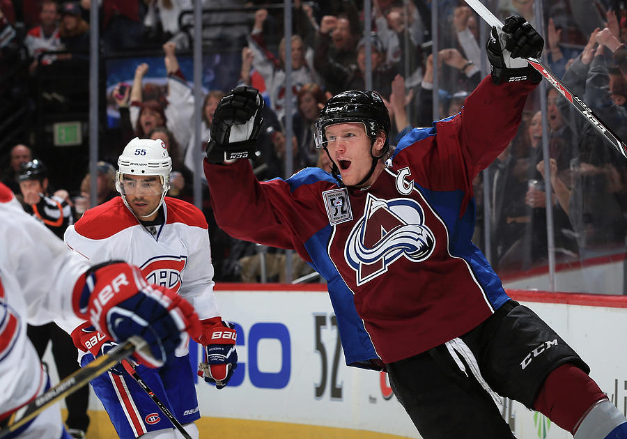 Montreal Canadiens V Colorado Avalanche Photograph by Doug Pensinger