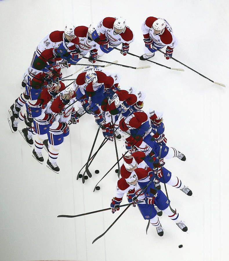 Montreal Canadiens V New Jersey Devils Photograph by Bruce Bennett