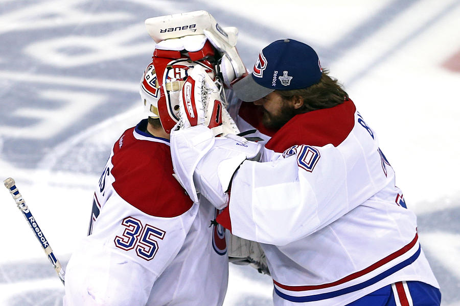 Montreal Canadiens v New York Rangers - Game Three Photograph by Elsa