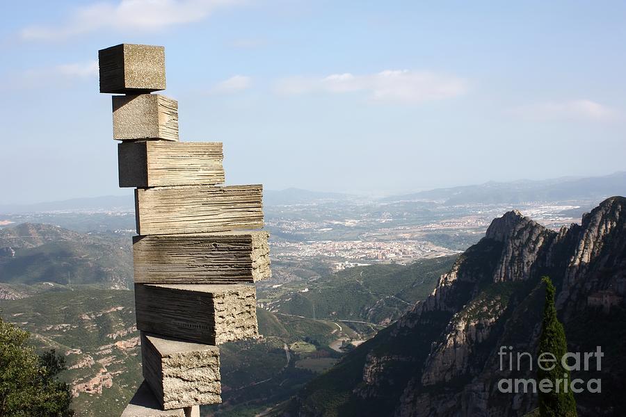 Montserrat Photograph - Montserrat Spain by Sophie Vigneault