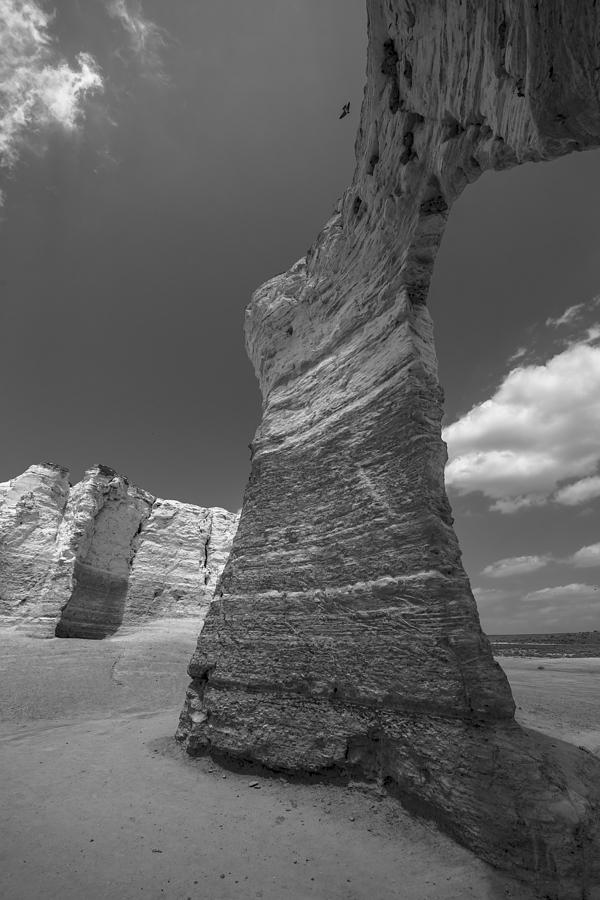 Rock Formation Photograph - Monument Arch by Garett Gabriel