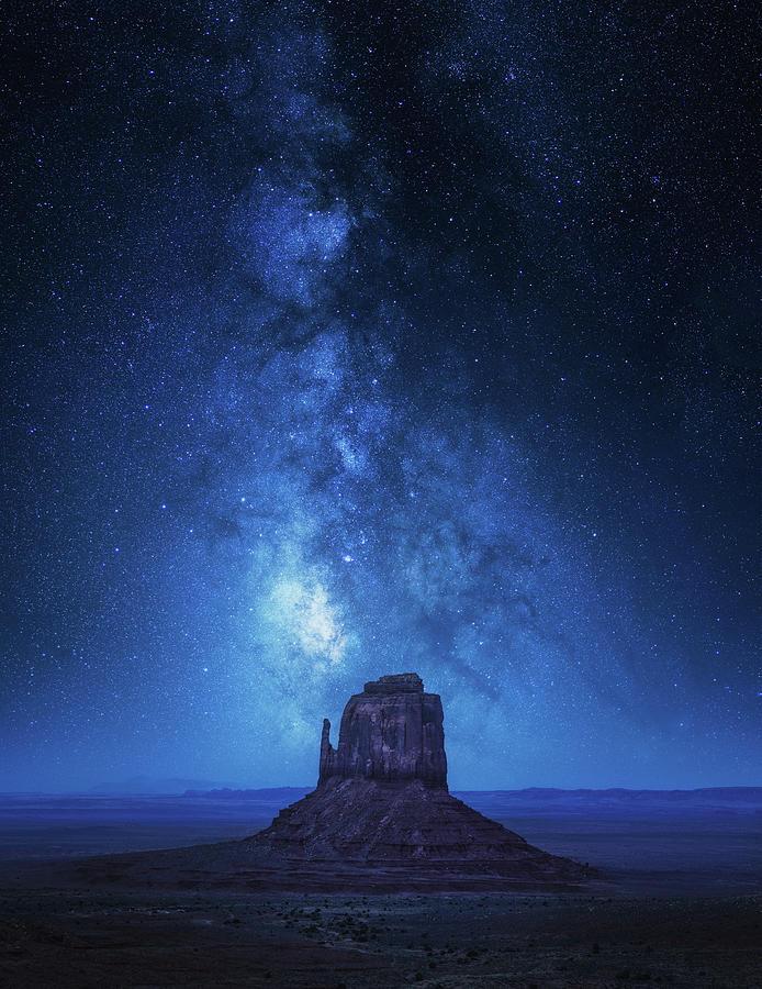 Arizona Photograph - Monument Milkyway by Juan Pablo De