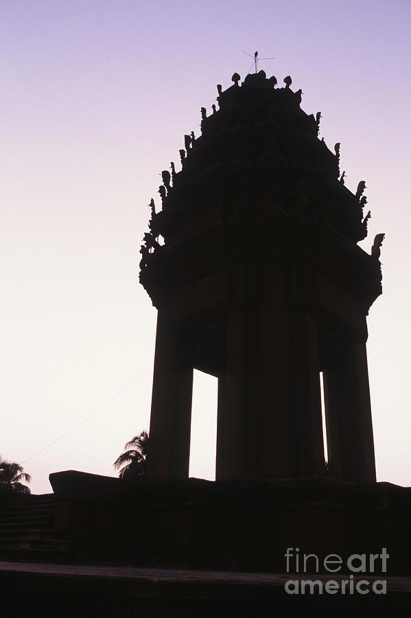 Asia Photograph - Monument Phnom Penh Cambodia by Ryan Fox