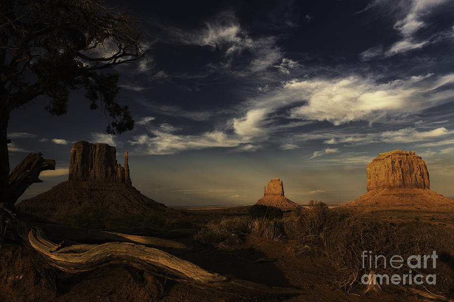 Monument Valley Photograph - Monument Valley 1 by Richard Mason