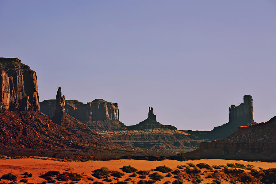 Monument Photograph - Monument Valley - An Iconic Landmark by Christine Till