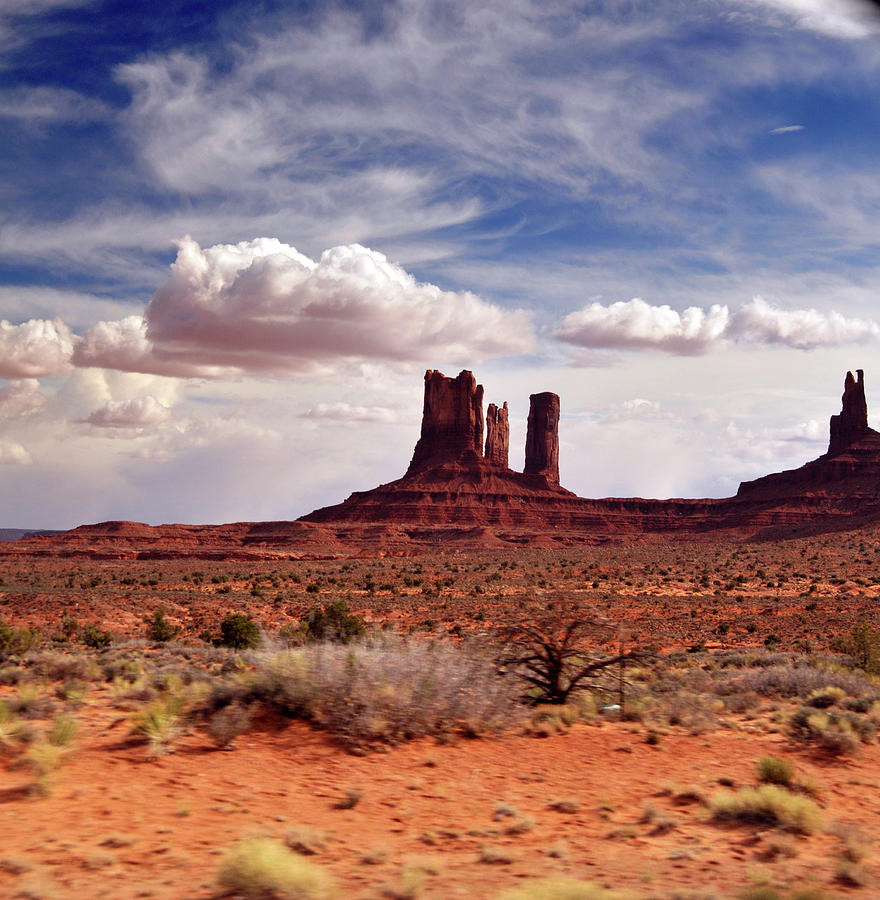 Monument Valley Area From Highway Photograph by Utah-based Photographer Ryan Houston