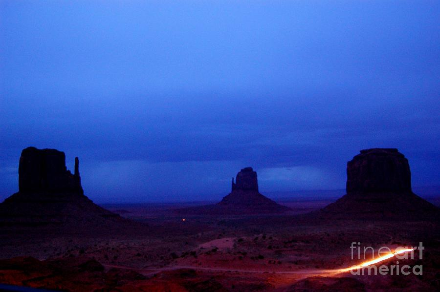 Monument Photograph - Monument Valley Awakens by C Lythgo