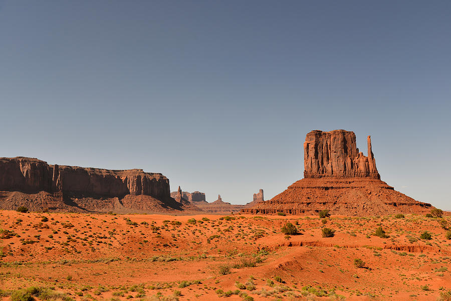 Monument Photograph - Monument Valley - Beauty Created By Nature by Christine Till