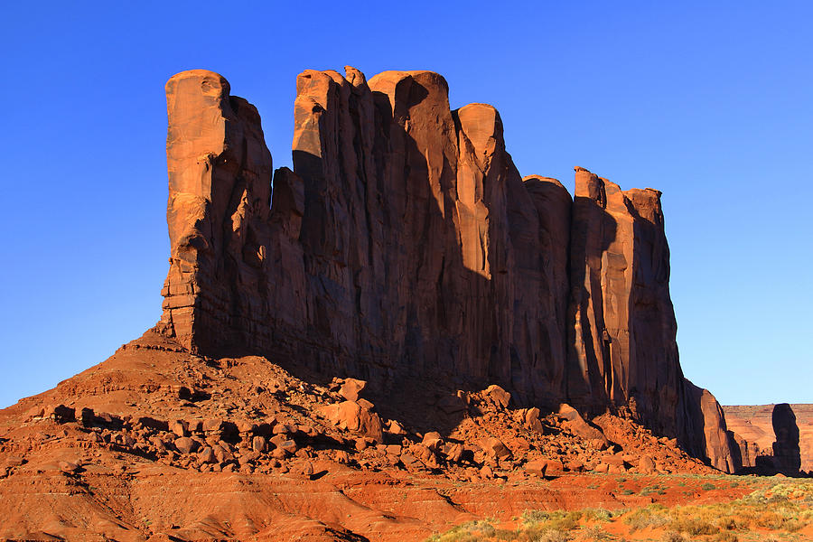Monument Valley - Camel Butte Photograph - Monument Valley - Camel Butte by Mike McGlothlen
