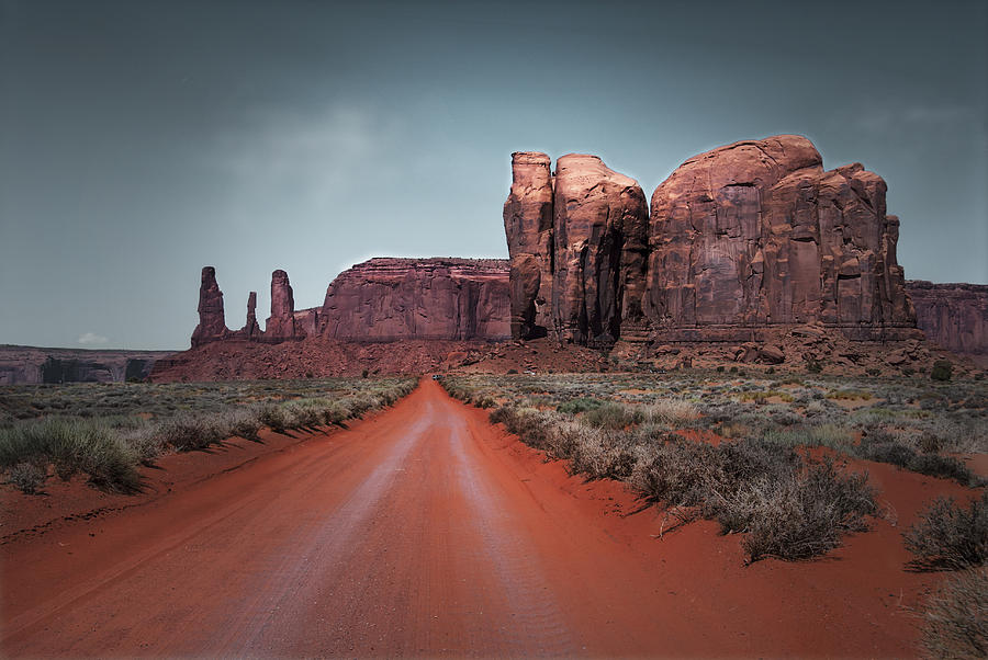 Monument Valley Photograph - Monument Valley by Cindy Rubin