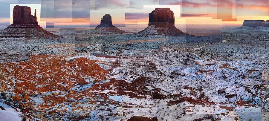 Monument Valley Photograph - Monument Valley Mittens by Stephen Farley