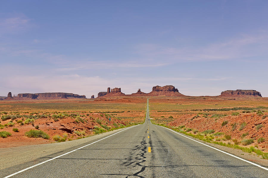 Monument Photograph - Monument Valley - The Classic View by Christine Till