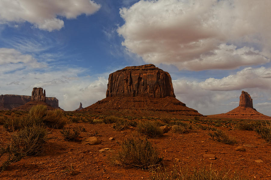 Monument Valley Triplet Photograph