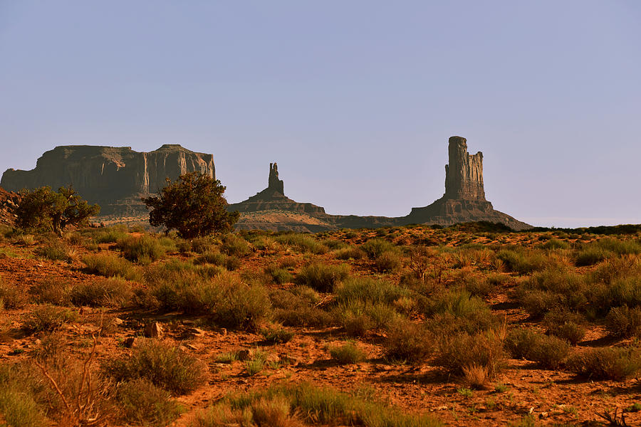 Monument Valley Photograph - Monument Valley - Unusual Landscape by Christine Till
