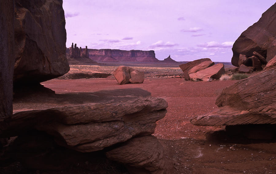 Monument Valley Photograph - Monument Valley vista by Mike  Bennett