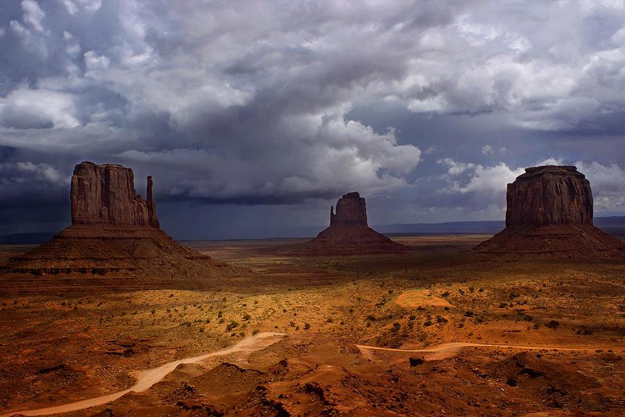 Monument Photograph - Monuments Of The West by Ellen Heaverlo