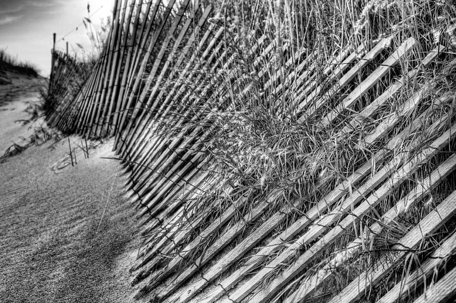 Jones Beach Photograph - Moods Bw by JC Findley