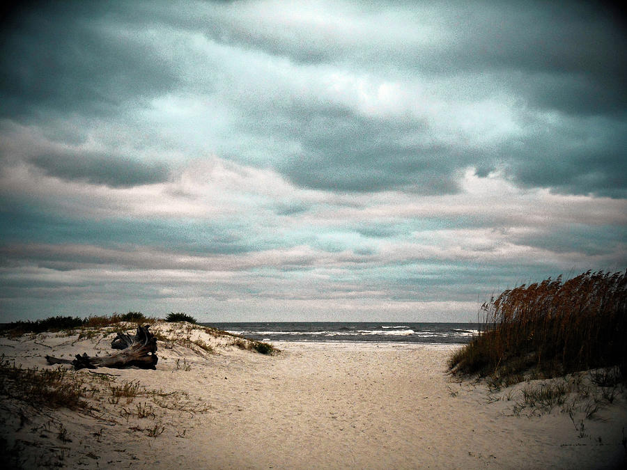 Moody Beachscape Photograph by Joseph Shields