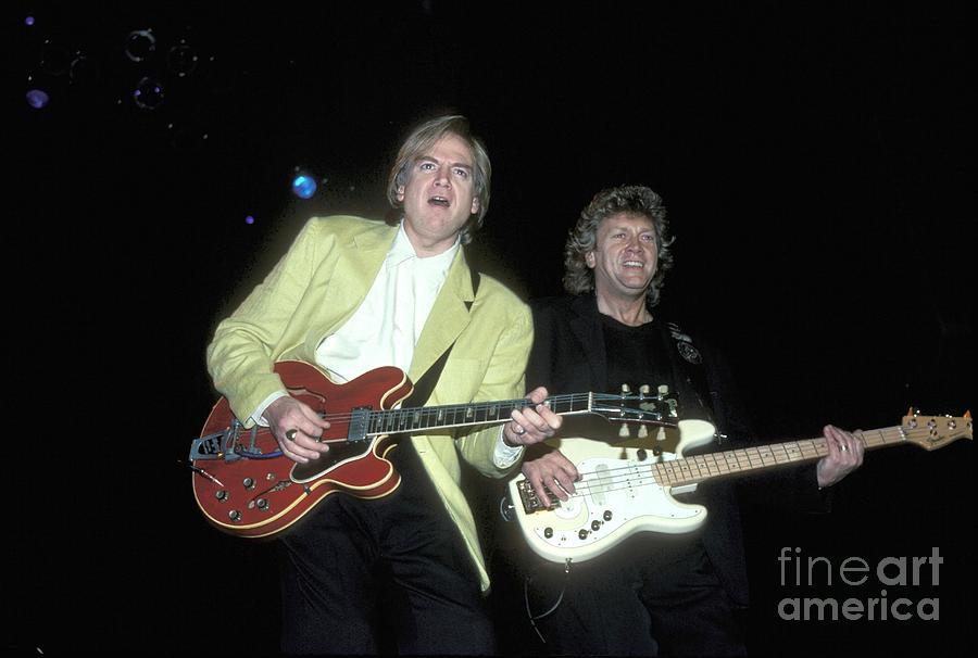 Moody Blues Justin Hayward And John Lodge Photograph By Concert Photos