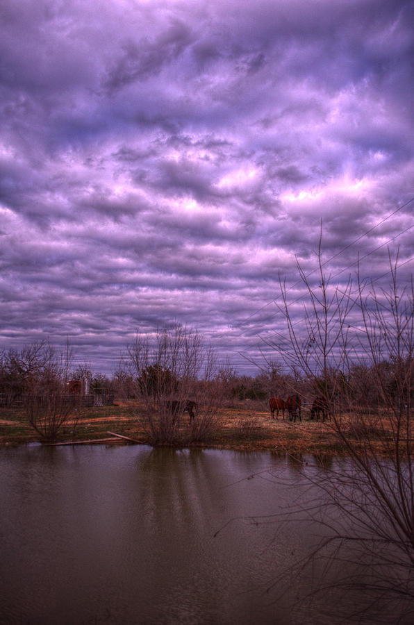 Landscape Photograph - Moody Day by Kelly Kitchens