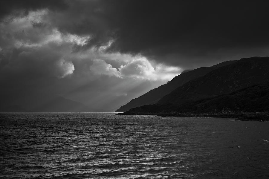 Moody Scottish Weather Photograph by Charles Briscoe-knight