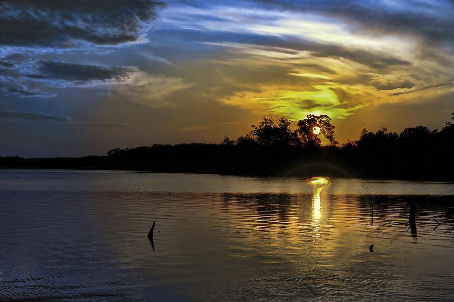 Moody Sunrise Photograph by Gene Zonis