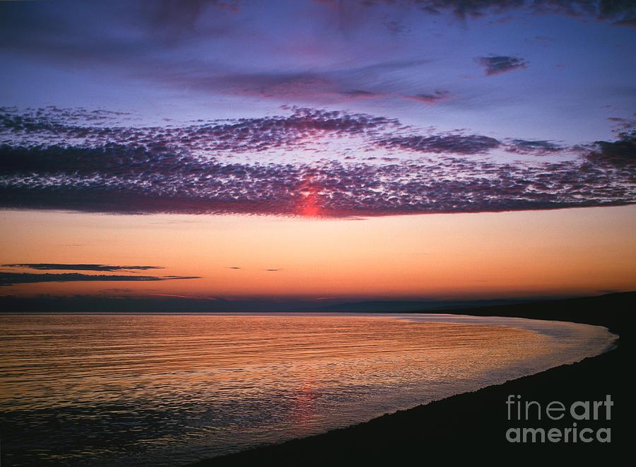 Dorset Photograph - Moody Sunset by Lana Enderle