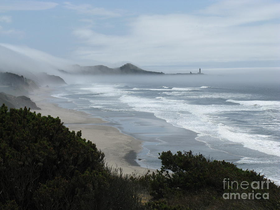 Marine Layer Photograph - Moolack Marine 001 by DDs Outdoors