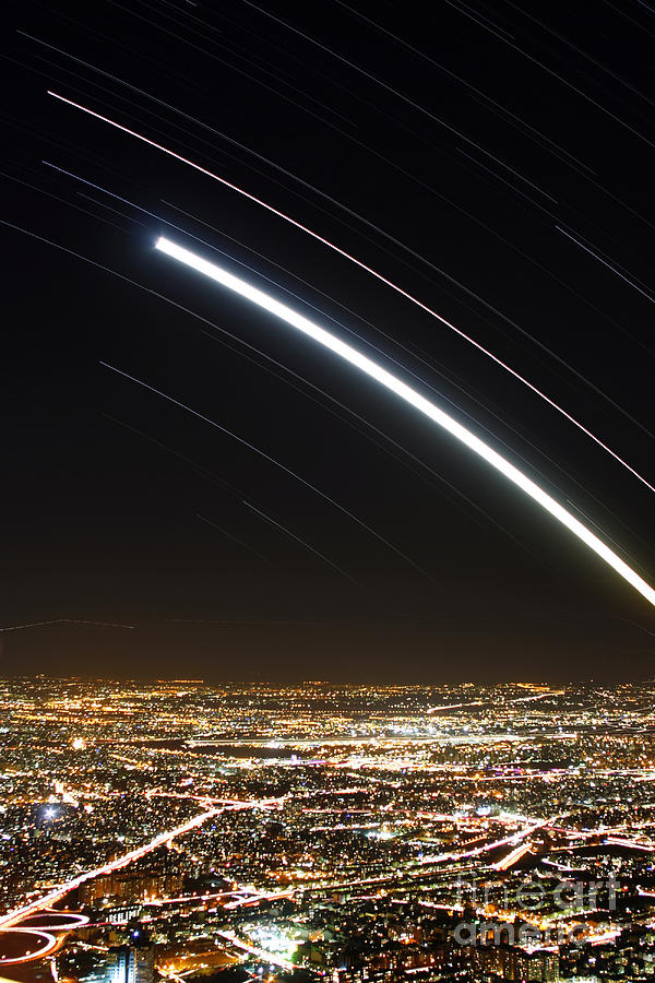 Moon And Jupiter Conjunction by Amin Jamshidi