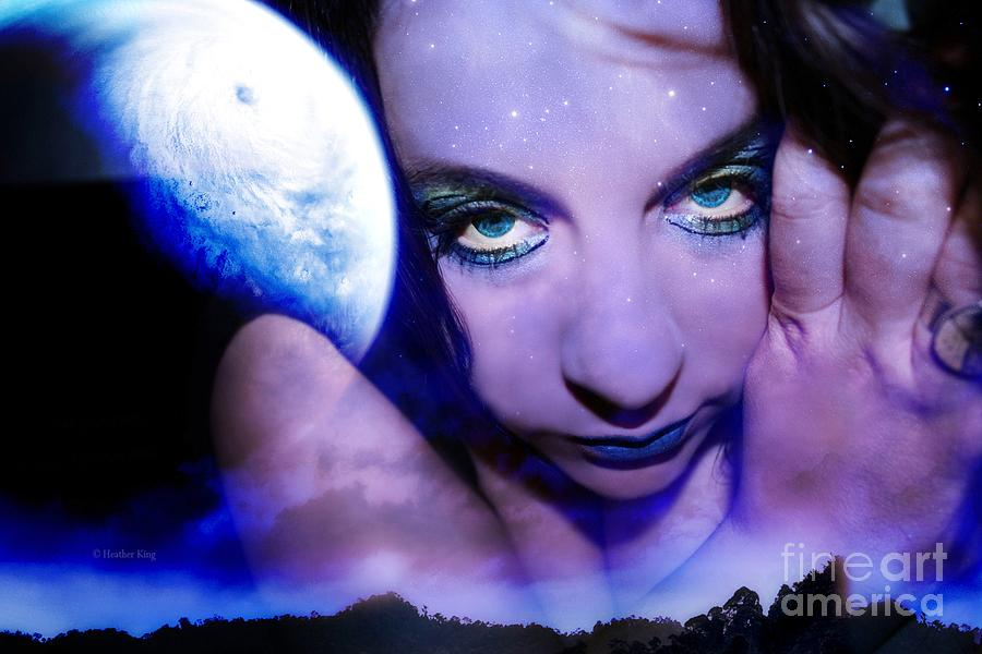 Copying Photograph - Moon Intoxication by Heather King
