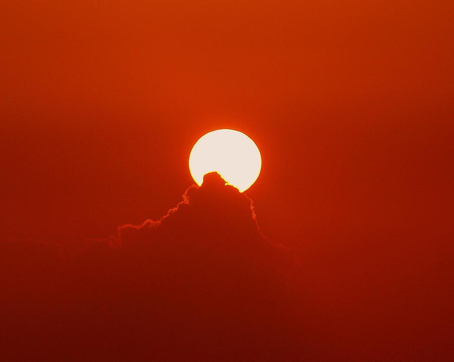 Sun Photograph - Moon Light by Athala Carole Bruckner