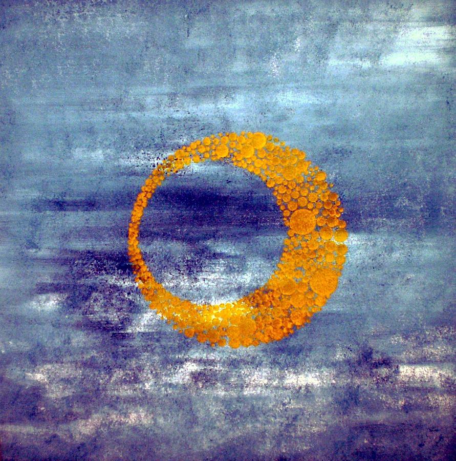 Nico Painting - Moon by Nico Bielow