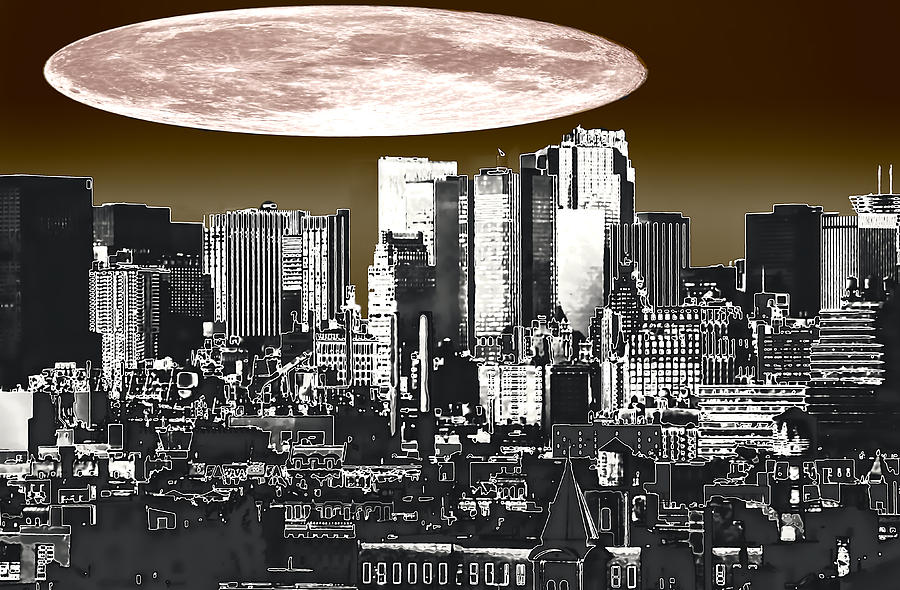 Moon Over Manhattan by Kellice Swaggerty
