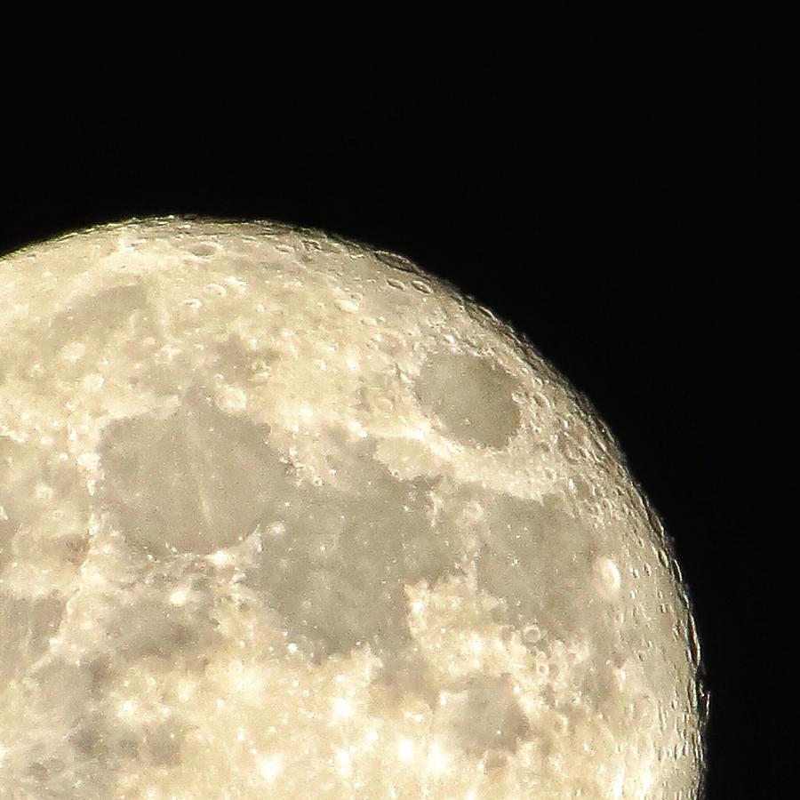 Moon Photograph - Moon Walk by Nikki Watson    McInnes