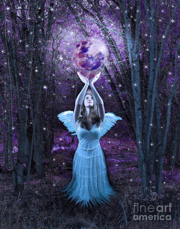 Fantasy Goddess Photograph - Moondance by Tammy Collins