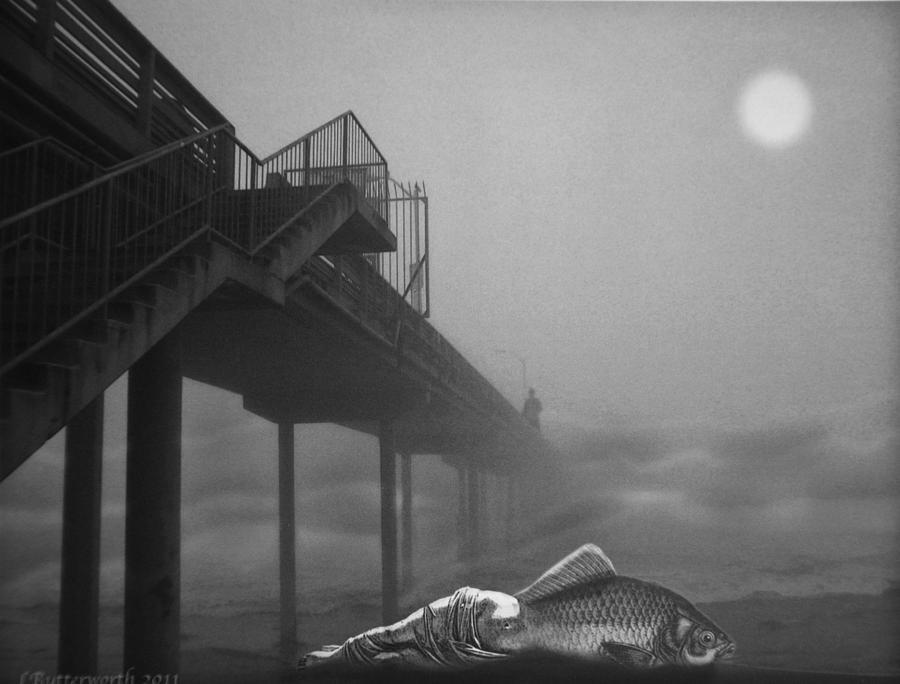 Surrealism Photograph - Moonlight Beach by Larry Butterworth