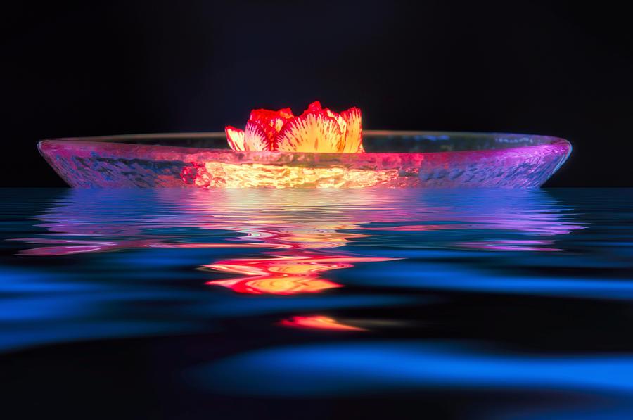 Artsy Photograph - Moonlight Drift by Joan Herwig