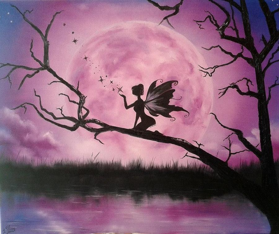 Acrylic Paintings Of Fairies