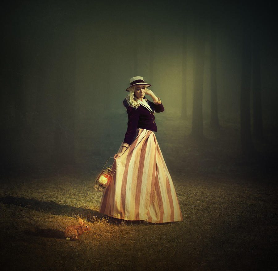 Creative Edit Photograph - Moonlight by Svetlana Melik-nubarova