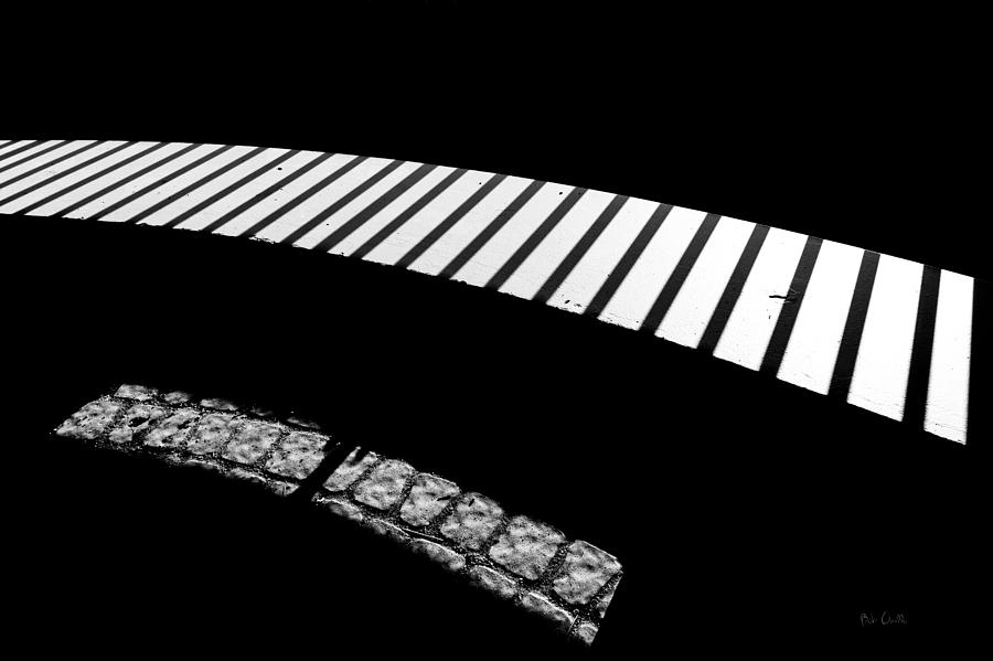 Abstract Photograph - Moonlight Under The Highway by Bob Orsillo