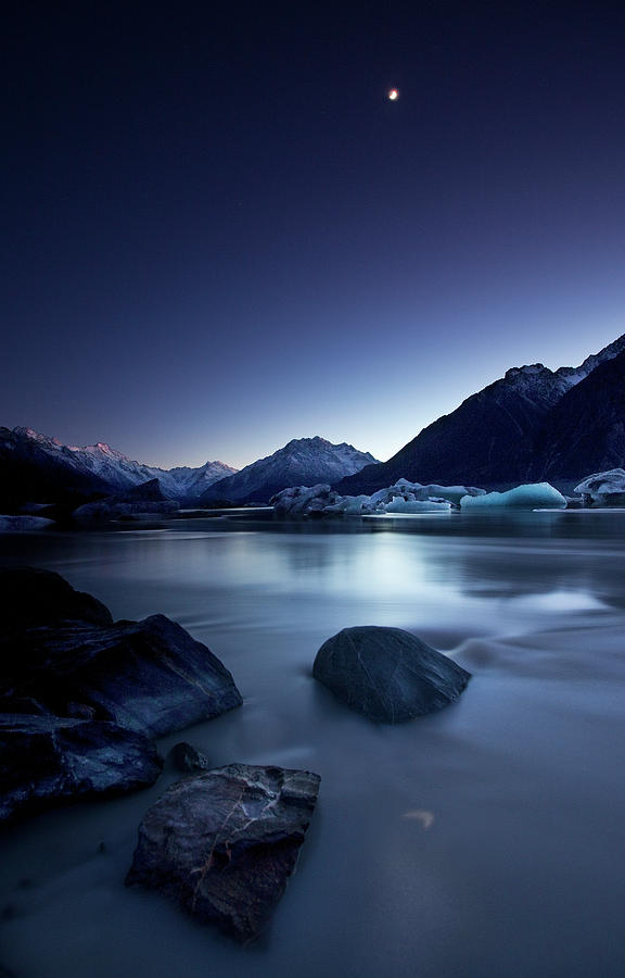 Moon Photograph - Moonlight by Yan Zhang